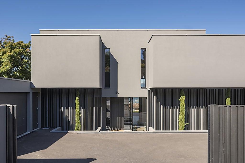 Villa au 15 route de Thonon, Vésenaz, Genève. Architectures Jucker SA,