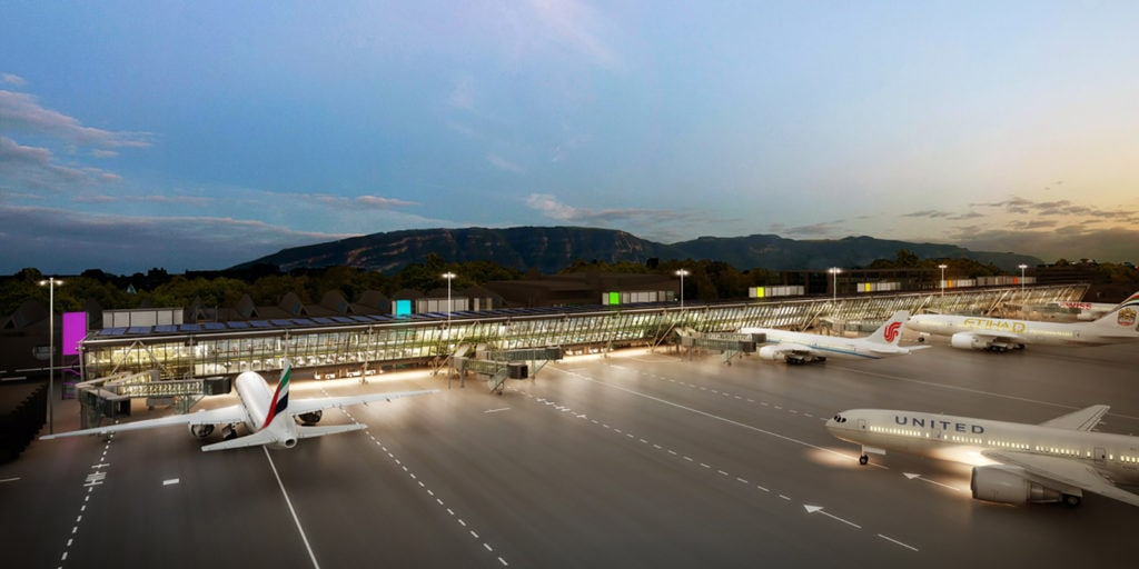 Aile est - airoport Genève - HRS